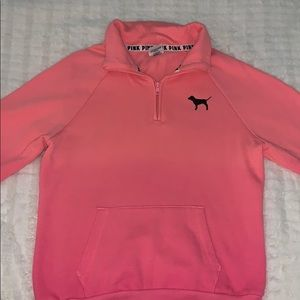 XS pink vs sweatshirt